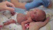 Bébé né prématurément. Sa première année en vidéo.