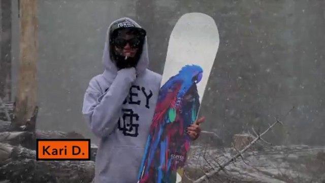 Capita Birds of a Feather - Good Wood 2014 Women's All Mtn - TransWorld SNOWboarding