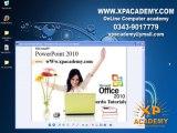 Ms PowerPoint Urdu Tutorials | Rearranging-slides