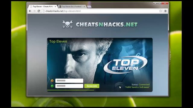 Gratuit Top Eleven Hack téléchargement Gratuit PIrate Free Top Eleven Hack Cheat - Tokens & Cash ( Updated 2013 )