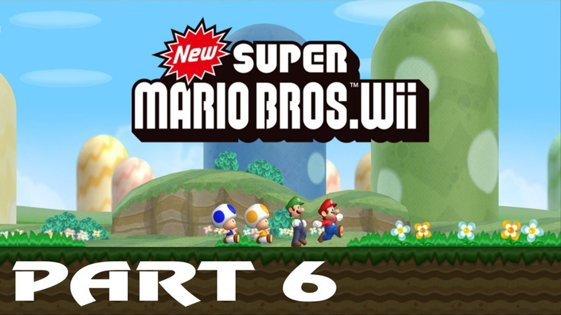 New Super Mario Bros Wii Walkthrough Part 6 Video Dailymotion