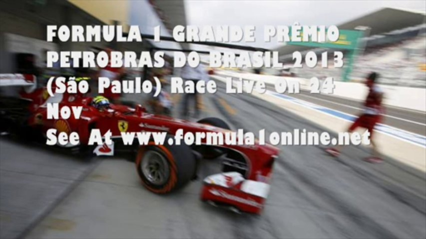 Watch LIVE Formula One ONLINE