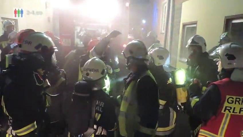 2. Brandstiftung innerhalb eines Tages - Brandserie Hainburg