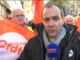 Bretagne: manifestation de salariés à l'appel des syndicats - 23/11