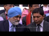 Montek Singh Ahluwalia and CM of Meghalaya at North East Festival