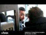 Abdelkrim Bichkou, chauffeur de bus le jour, comique le soir ...ou l'inverse