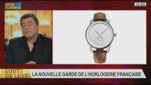 La nouvelle garde de l'horlogerie française, dans Goûts de luxe Paris - 24/11 5/8