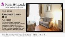 Studio Apartment for rent - Centre George Pompidou, Paris - Ref. 7629