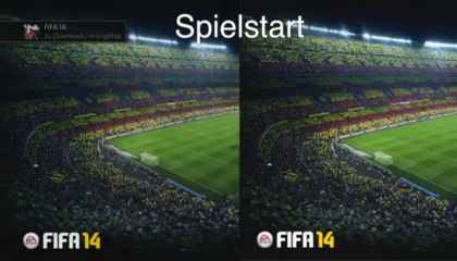 Durée d'installation de FIFA 14