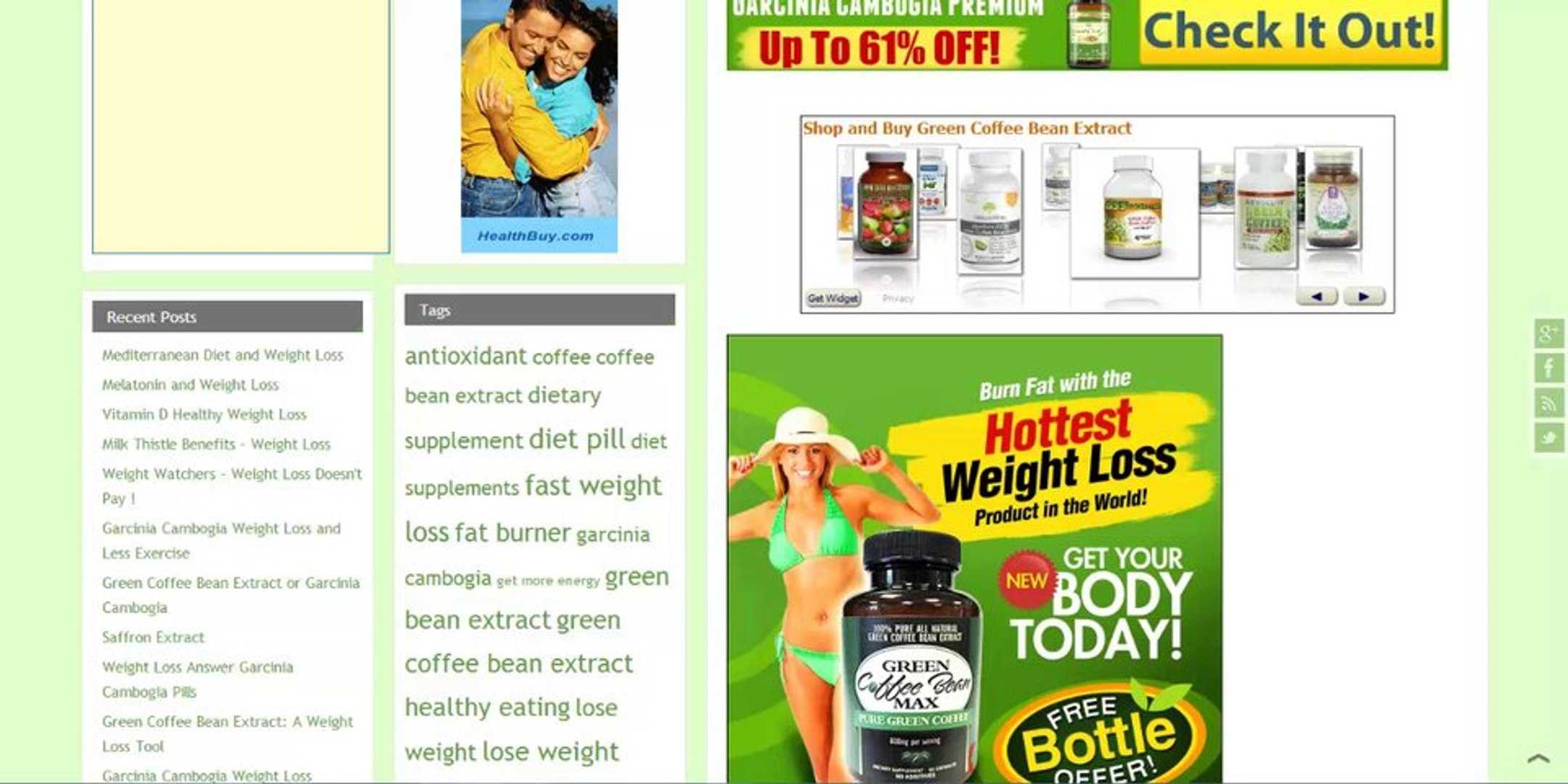Weight Loss Pills Lose Weight Fast Tips And Information Green Coffee Bean Extract
