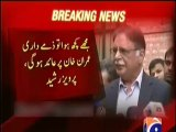 If some thing happened to me , Imran Khan will be responsible - PErvaz Rasheed