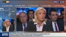 BFM Politique: L'After RMC: Marine Le Pen répond aux questions de Véronique Jacquier - 24/11