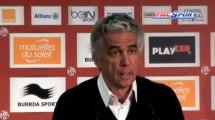 Ligue 1 /  Nice-St Etienne : Les réactions après les incidents / 24-11