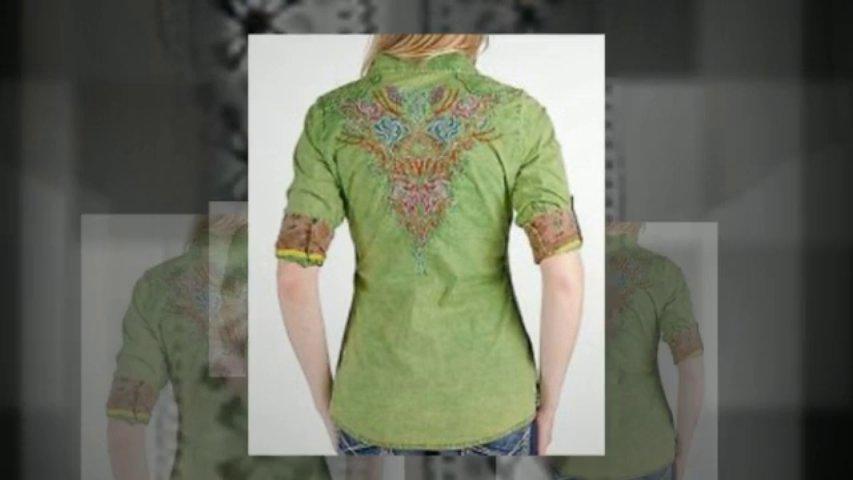 Annika Embroidered Shirt