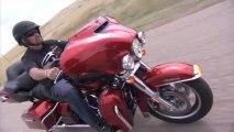 Harley Davidson  Ultra Limited FLHTK, proyecto Rushmore. Pruebas y desarrollo.