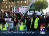 PTI holds mass protest in London against drone attacks on Pakistan