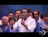 Presidenziali in Honduras, vittoria rivendicata da due candidati. Esultano sia conservatore Hernandez che la progressista Castro