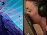 """Coulisses de Jenifer en studio pour l'enregistrement de """"L'air du vent"""" !"""