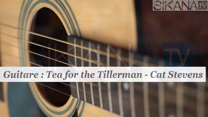 Cours de guitare : jouer Tea for the Tillerman de Cat Stevens