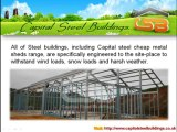 Steel Buildings - Cheap Metal Sheds