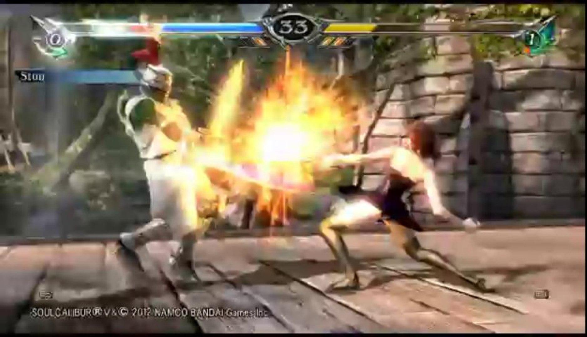 Soul Calibur V | Ranked Online Match - Sunbro Versus Amy