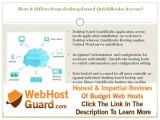 What is QuickBooks Hosting?