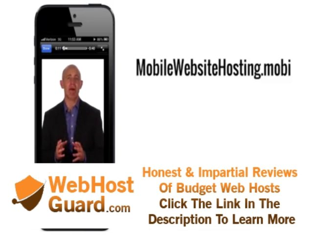 Mobile Website Hosting
