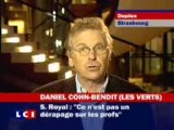 Daniel Cohn-Bendit avec Ségolène