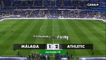Обзор матча · Малага (Малага) - Атлетик (Бильбао) - 1:2