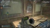 KEM Strike w/ Sniper L115 sur COD Ghosts (WORLD First)