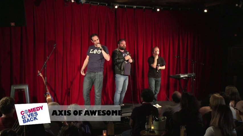 Jokes from Sydney: Axis Of Awesome is a MAN band