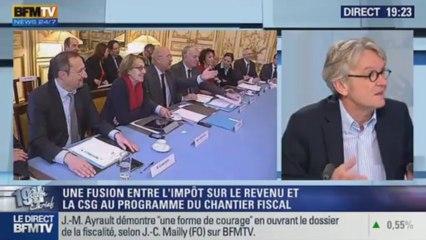 Interview de Jean-Claude Mailly sur BFM TV