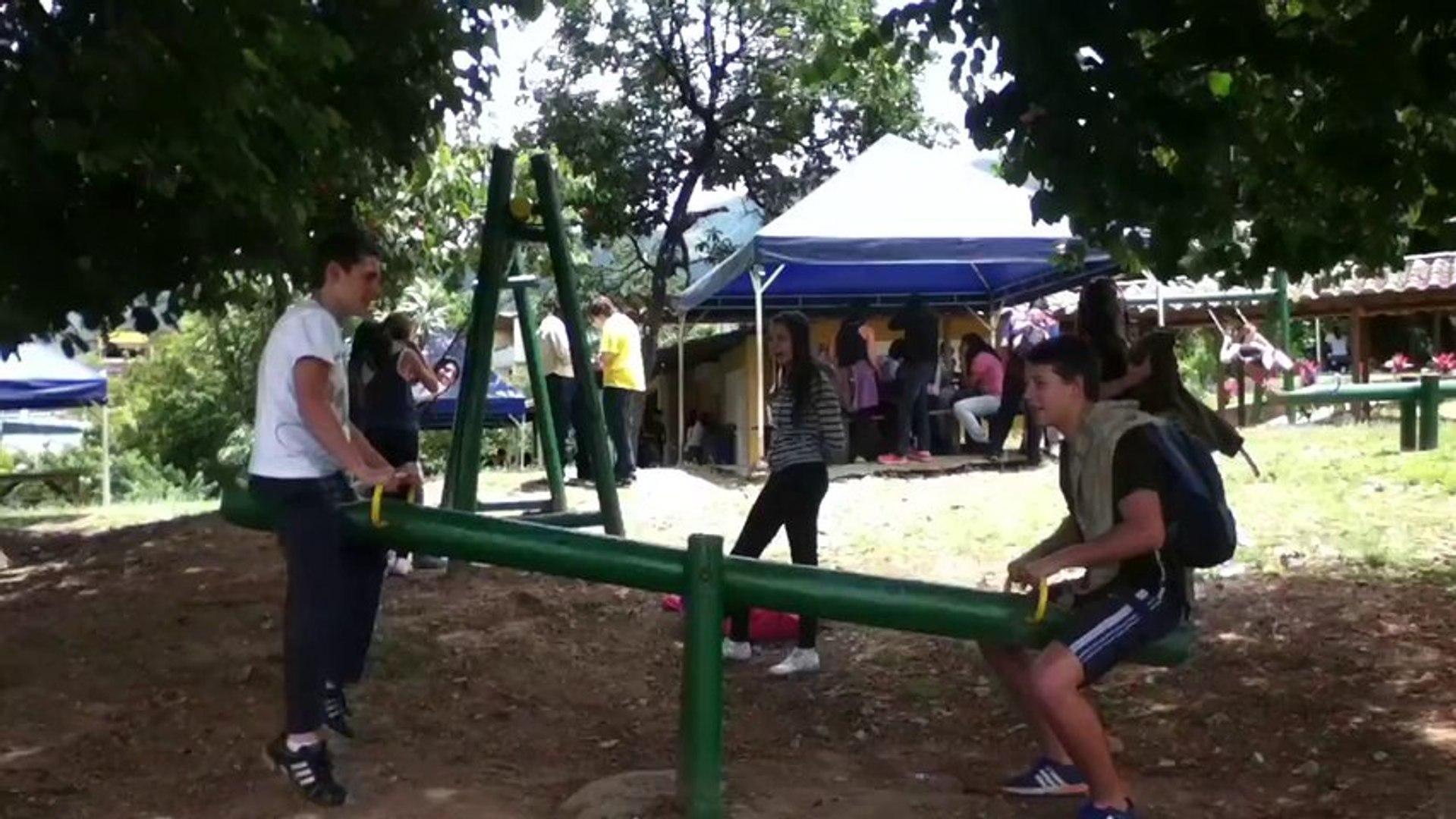 Kids playing at school fail
