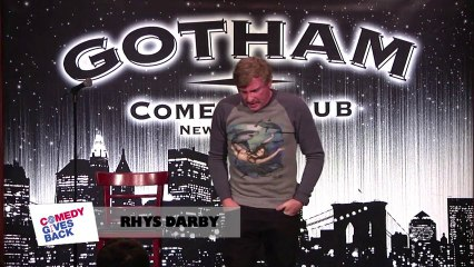 Jokes from New York: Rhys Darby levels with mosquitos