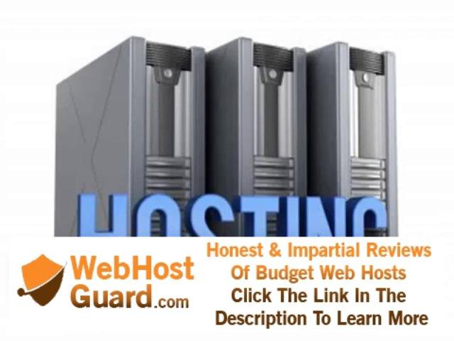 Reliable website hosting