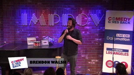 Jokes from Los Angeles: Brendon Walsh leaves notes