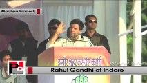 Rahul Gandhi in Indore slams BJP govt in Madhya Pradesh for ignoring people's voice