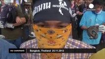 Nouveaux affrontements police-manifestants en Thaïlande