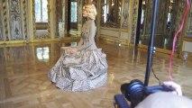 Michelle Westgeest for Harpers Bazaar Espanol (October 2010) by Benjamin Kanarek Behind the scenes