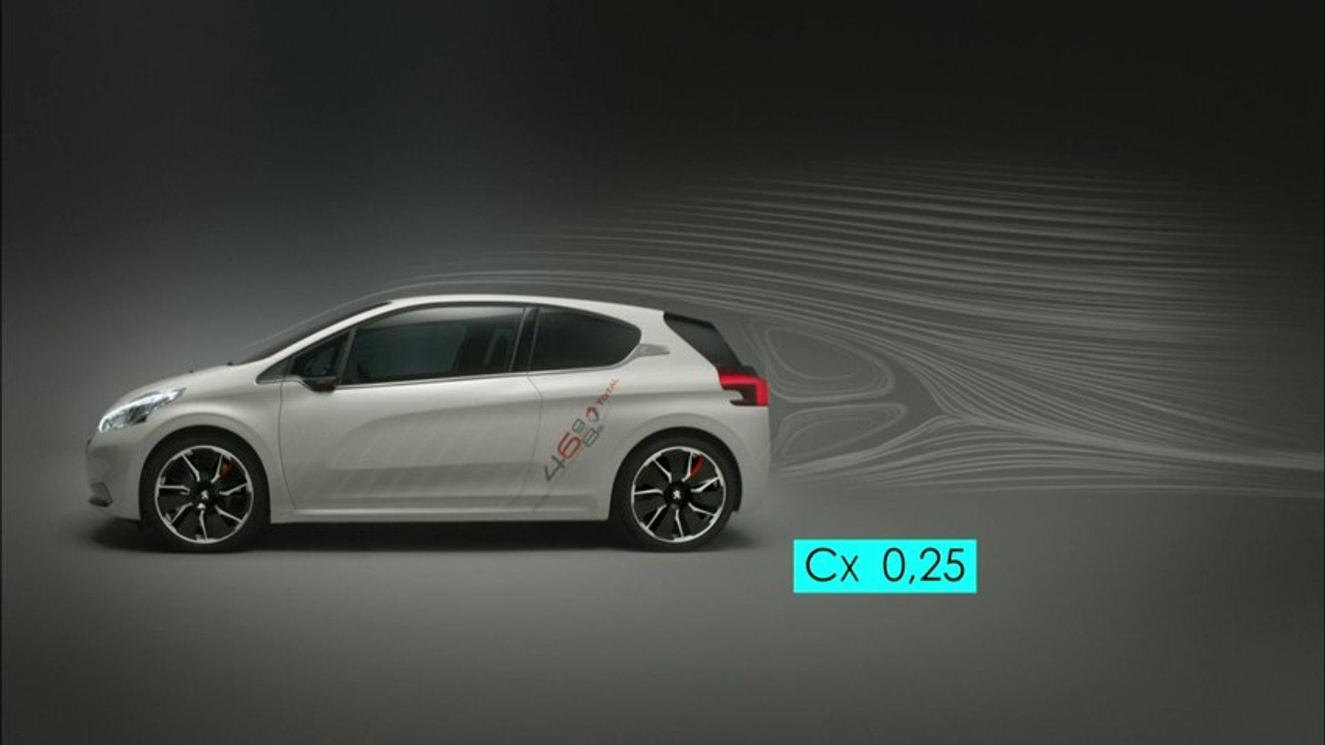 Présentation vidéo de la Peugeot 208 HYbrid FE - 2013