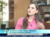 """Lucena aseguró que el Consejo Nacional Electoral tiene """"la base de datos de huellas más grande y segura del país"""""""