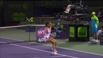 Agnieszka Radwanska 2013 Sony Open Tennis Hot Shot