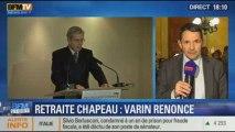 BFM Story: Varin renonce à sa retraite chapeau de vingt-et-un millions d'euros - 27/11
