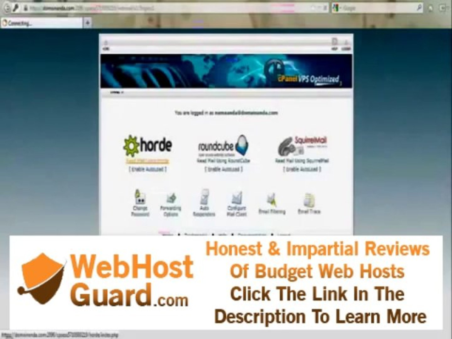 Cara Login webmail (Email) cPanel Hosting By riauhost.net