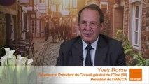 DRCLG - SMCL 2013 : itw d'Yves Rome, Sénateur et Président du CG de l'Oise (60)