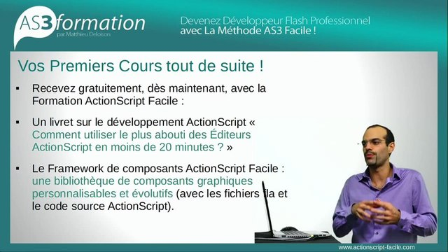 Formation Flash ActionScript 3 Gratuite pour devenir Développeur Flash