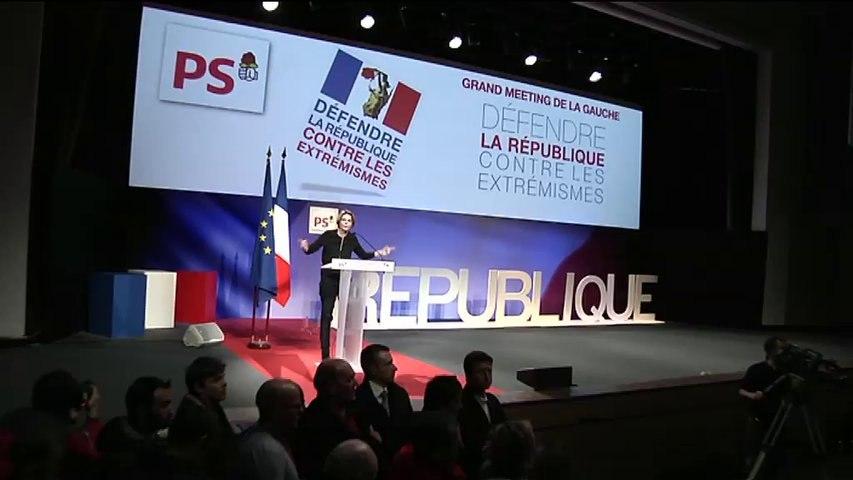 Caroline Fourest au grand meeting de la Gauche : Défendre la République contre les extrémismes