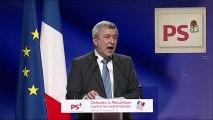 Jean Luc Laurent au grand meeting de la Gauche : Défendre la République contre les extrémismes