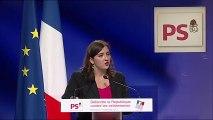 Laura Slimani au grand meeting de la Gauche : Défendre la République contre les extrémismes