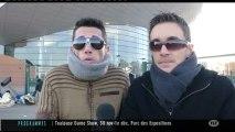 Concert de Mylène Farmer: les fans bravent le froid (Toulouse)